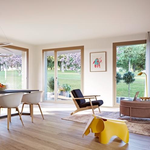 Dreizeit Stuttgart - Essbereich, 4-Zimmer-Wohnung mit Gartenterrasse, Erdgeschoss