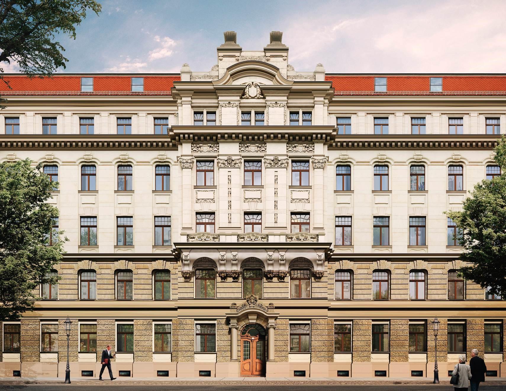 Palatium Dresden - Stadtbildprägende Substanz mit viel Charakter