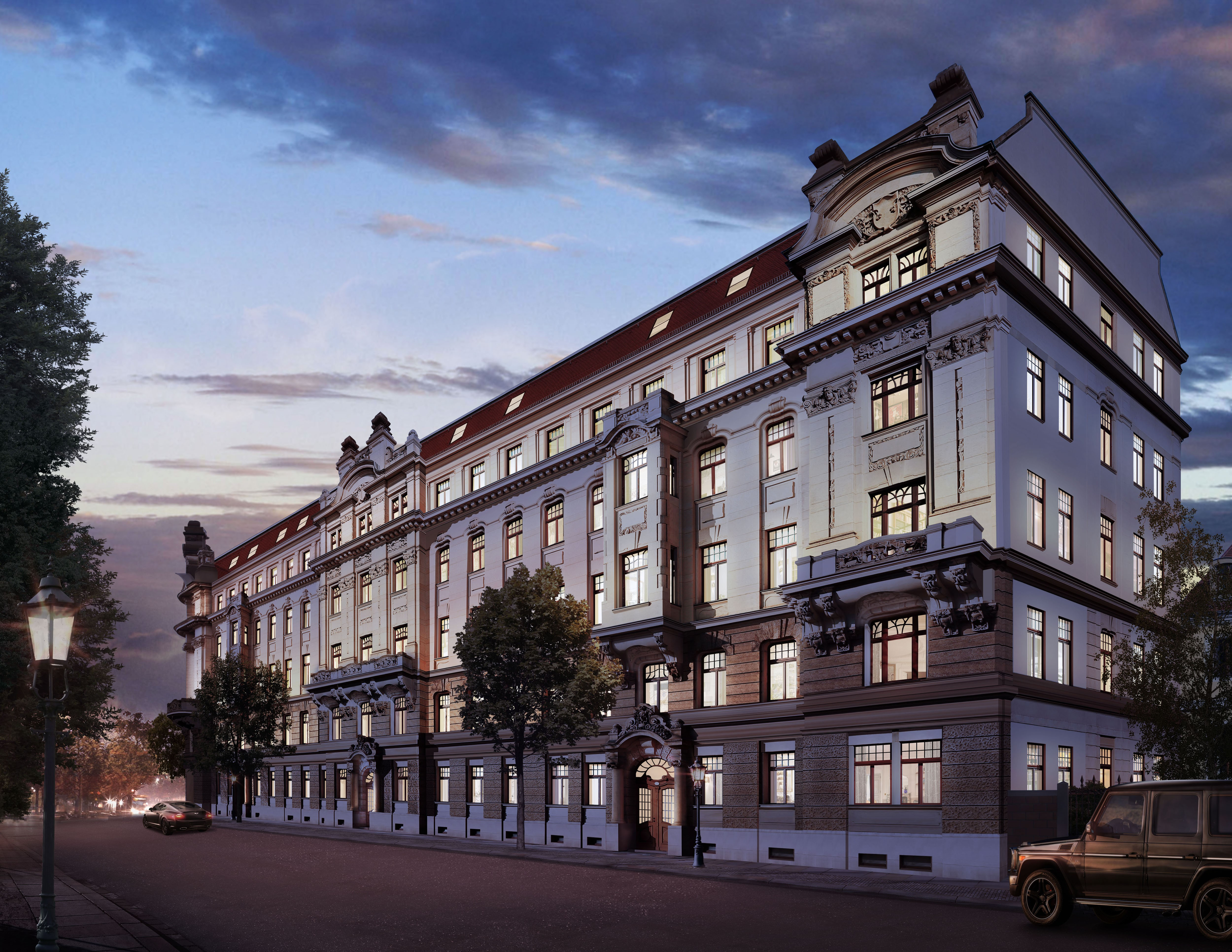 Palatium Dresden - Modernity meets memorial